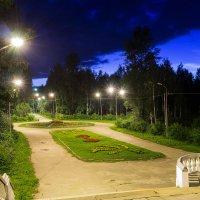 Вечер в парке Ухты... :: Николай Зиновьев