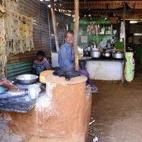 изготовление чапаты (индийских блинов) :: Георгий А