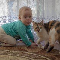 Алиска и киска :: Александр Астапов