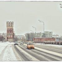 Октябрьская набережная в районе Уткиной заводи. :: Григорий Евдокимов