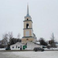 Свято - Никольский храм.Крапивна. :: Сергей Уткин