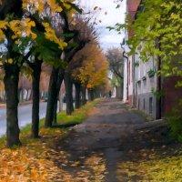 В октябре. :: Владимир Лобанов