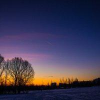 Как падает звезда... :: Владимир Безбородов