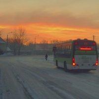 Утренний автобус :: Aндрей Антонов