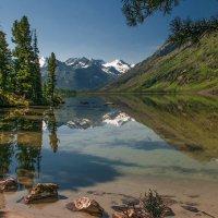 Уютные уголки Среднего Мультинского озера :: Юрий Никитенко