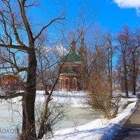 Весенний пейзаж :: Наталья Соколова