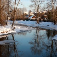Старый город у реки... :: Нэля Лысенко