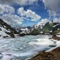 июль на перевале Gr.St.Bernhard :: Elena Wymann
