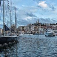 Вечером в Старом порту Марселя :: Nina Karyuk