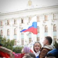 С Россией в голове... Крымская весна... With Russia in head... Crimean spring... :: Сергей Леонтьев