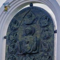 Памятный знак в честь 700-летия обретения Курской Коренной иконы Божией Матери Знамение :: Руслан Васьков