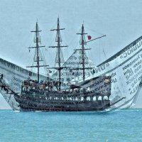 ... Я шагнула на корабль,а кораблик оказался из газеты вчерашней... :: ЛЮБОВЬ ВИТТ