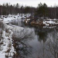 Весна на реке Серёжа. :: Григорий Вагун*