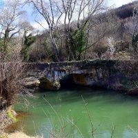 Старинный акведук на Черной речке. :: Ольга Голубева