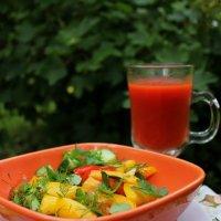Легкий перекус в саду :: Татьянка *