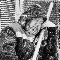 Такого снегопада... :: олег свирский