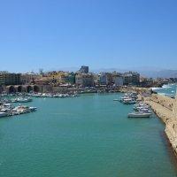 Греция, о. Крит, порт г. Ираклиона. :: Ольга Кирсанова