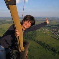 Прыжки над Плещеевым озером. Летим! :: Марина Морозова