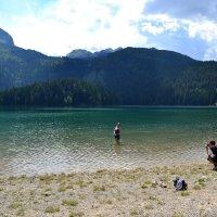 Фотосессия в горном озере :: Ольга