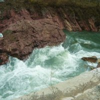 Адыгея. Река Белая бывает и такой :: татьяна