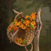 С цветами и корзинкой :: Светлана Л.
