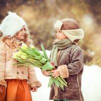 Первая любовь :: Фотохудожник Наталья Смирнова