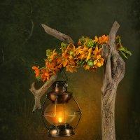 С лампой и цветами :: Светлана Л.