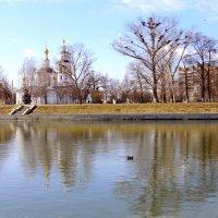 Ока в марте. :: Борис Митрохин