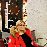 Пулково. Портрет девушки с самолётами в голове... :: Кай-8 (Ярослав) Забелин