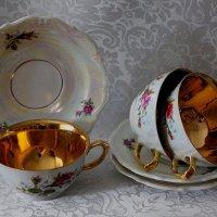 Фарфоровые чашки любимые :: Надежд@ Шавенкова