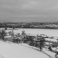 Вид на Канавинский мост, Нижний Новгород :: Владимир Васильев