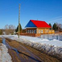 Весенняя дорога по деревне Казарята :: Алексей Сметкин