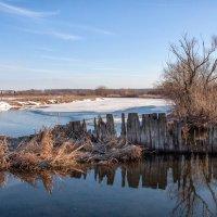 Март на реке :: Сергей Михайлович