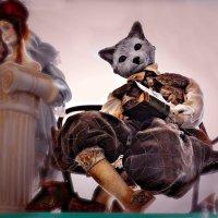 Кот учёный из музея кукол на Покровке. :: Татьяна Помогалова