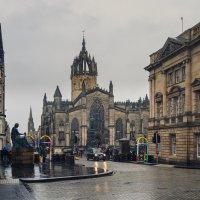 Дождливый вечер в Эдинбурге 2 :: Galina