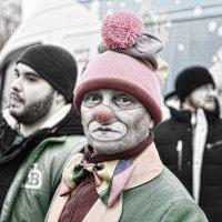 Зимний клоун. Winter clown :: Юрий Воронов