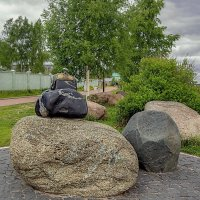 On the embankment in Petrozavodsk :: Arturs Ancans