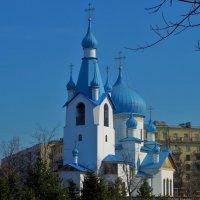 Церковь Святой Иконы Рождества Христова...С Благовещением Друзья! :: Sergey Gordoff