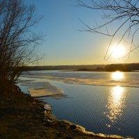 Весенний лёд. :: Валерий Медведев