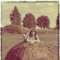 я на сене :: Светлана