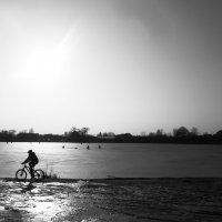озеро зимой :: Дарина Нагорна