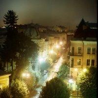 улица ночь фонари :: Олег Марусик