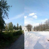 Дом Советов в  Кикнуре. :: Павел Михалев