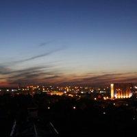 Город с высоты :: Юлия Беспечная