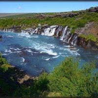 Лавовые водопады Хрейнфоссар :: Олег Потехин