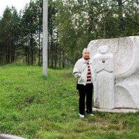 Портрет в пейзаже :: Наталья Золотых-Сибирская