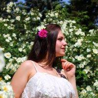 В цветах :: Анастасия Шаехова