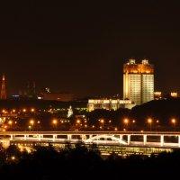 Вид на метромост и Российскую Академию Наук :: D. S.