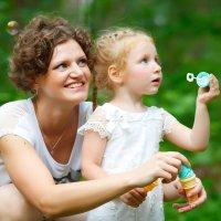 С мамой :: Юлия Вяткина