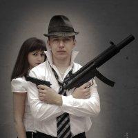 Из серии Бони и Клайд 2013....Похулиганили чуть) :: Катерина Алексеева